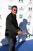 LOS ANGELES - SEP 4:  George Lopez at the Ping Pong 4 Purpose Charity Event at Dodger Stadium on September 4, 2014 in Los Angeles, CA