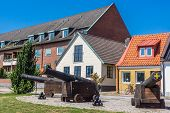 pic of missles  - Antique guns in Ystad - JPG