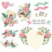 Vintage Wedding Flora Invitation