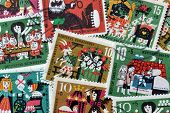 Fairy tales on stamps