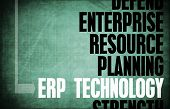 ERP Technology Core Principles as a Concept Abstract