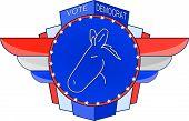 Democrat Emblem