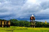 Belltower And Cloud Rains