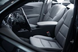 picture of designated driver  - Car Interior Driver Side View - JPG