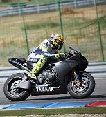 Valentino Rossi at Masaryk Circuit