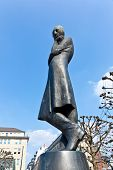 Heinrich Heine Statue In Hamburg