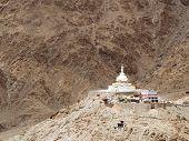 Buddhist Shanti Stupa at Leh