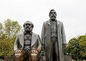 Marx Engels Forum In Berlin, Germany