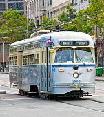 Historic San Francisco Steetcar