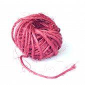 Hemp ball marsala colored