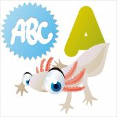 stock photo of game-fish  - animal abc learning for kids - JPG