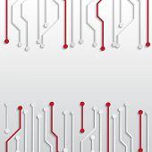 Circuit board texture
