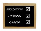 Education Training Career plan