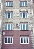 Apartment Building With Windows