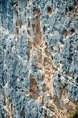 Texture of blue sandstone