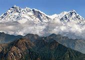 View Of Annapurna Himal From Jaljala Pass - Nepal - Asia