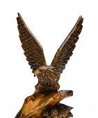 Wooden Figurine Of Eagle