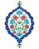 stock photo of ottoman  - Ornament design Ottoman and Turkish decorative arts - JPG