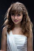 Image of beauty smiling teenage girl