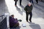 Beggar In Venice