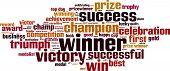 Winner Word Cloud