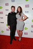 LOS ANGELES - JAN 29:  Nick Carter, Lauren Kitt at the