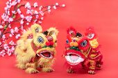 chinese traditional dancing lion