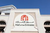 Mall Of The Emirates In Dubai