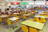 Food Court At The Dubai Outlet Mall