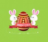Happy easter, easter eggs