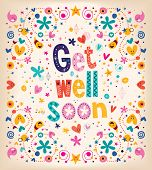 stock photo of get well soon  - such a lovely - JPG