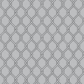 image of chain link fence  - Chain Link Fence - JPG