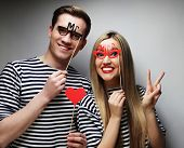 pic of party hats  - people - JPG