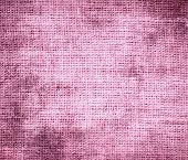 image of carnation  - Grunge background of carnation pink burlap texture for design - JPG