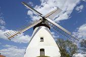 stock photo of windmills  - The windmill Heimsen  - JPG