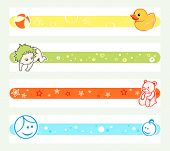 Colorful pregnancy tickers for online social networks