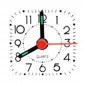 Relógio mostrando 08
