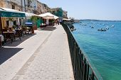Seafront In Syracuse, Sicily