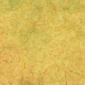 stock photo of brocade  - Digitally created grunge background in yellow and green brocade - JPG