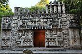 Mayan Stone Artwork - Museum, Mexico City