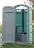 Open Portapotty