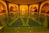 Bathing Pool Inside Of Hammam Turkish Bath