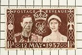 King George vi, Stempel