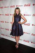 LAS VEGAS - APR 26:  Chloe Grace Moretz arrives at the CinemaCon 2012 Talent Awards at Caesars Palac