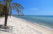 Scenic beach at Chalkidiki in Greece