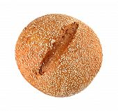 Onion Bread With Sesame Seeds