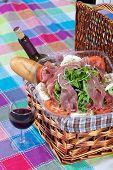 Ensalada de jamón de Parma
