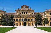 Ducal garden's palace. Parma. Emilia-Romagna. Italy.
