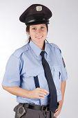 Czech Police Woman