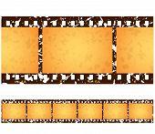 Antique Grunge Filmstrip Frames